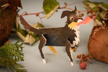 3D Dog Card